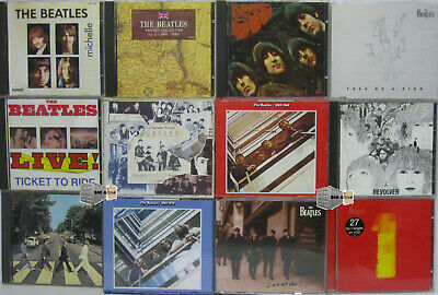 9 x CD Sammlung The Beatles Shaped Vol.1 Let it be Help! A hard days night usw