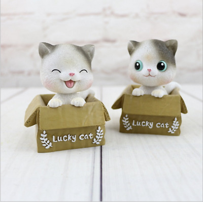 1PCS Creative New Cute Cartoon Lucky Cat Living Room Home Decoration