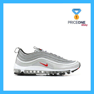 SCARPE NIKE AIR Max 97 OG QS Originals Metallic Silver Varsity Red Uomo  Donna
