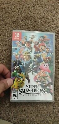 Super Smash Bros Ultimate Nintendo Switch Sealed No Reserve Fast Shipping US