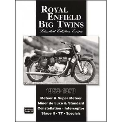 Book Motorycle Royal Enfield Big Twins Limited Edition Extra 1953-1970 RoadTests