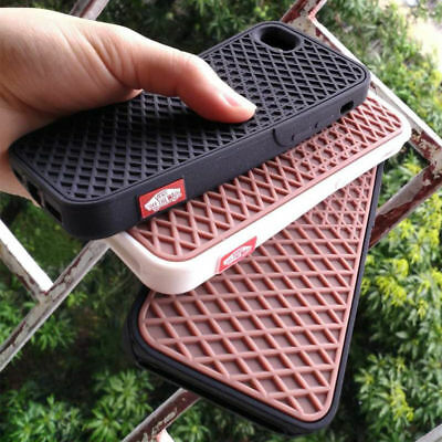 Waffle iPhone 5, 6, 7, 8, Case Multiple Vans Colours UK Seller Fast Delivery