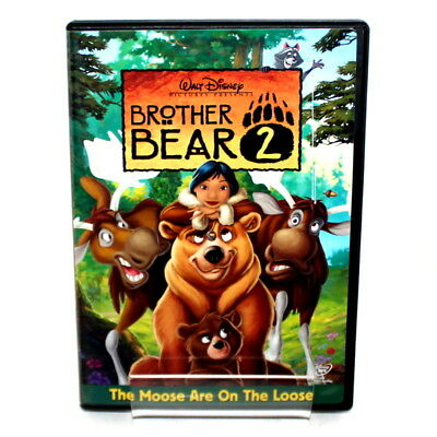 Walt Disney's Brother Bear 2 DVD Rated G 2006 Region 1 w/ Bonus Material