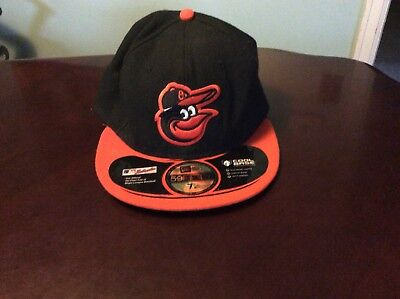 e14864a676cf51 New Era 59Fifty MLB Cap Baltimore Orioles On Field Fitted Hat - Black