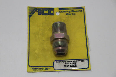 NEW AFCO 37132 TC Style Power Steering Pump Adapter Fitting, 1/2 Inch NPT / 10AN