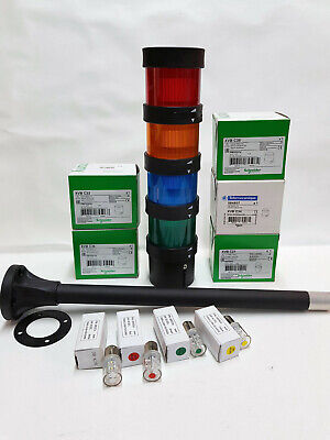 Telemecanique Harmony XVB Stack Light Signal Tower with original 24V LED BA15d