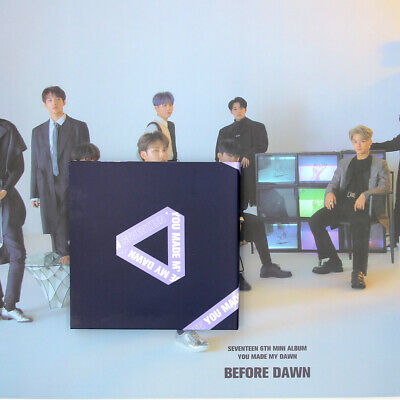 [SEVENTEEN]YOU MADE MY DAWN/Before Dawn Version/No Photocard/Poster Option