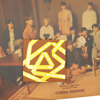 [SEVENTEEN]YOU MADE MY DAWN/Eternal Sunshine Version/No Photocard/Poster Option