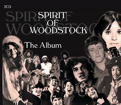 Spirit Of Woodstock - The Album    2 CD NEU OVP