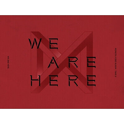 [MONSTA X]2nd Album Take.2 'WE ARE HERE'/VER.1/New, Sealed/Poster Option