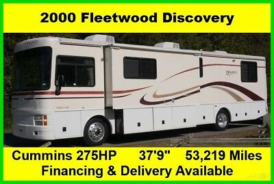 2000 Fleetwood Discovery Used Diesel Pusher Motor Home Coach RV MH Motorhome