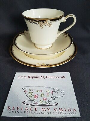 Minton Newbury pattern Replacement tea cup saucer and side plate TRIO