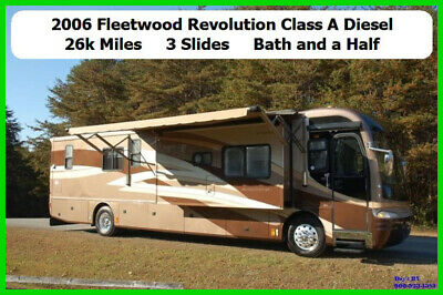 2006 Fleetwood Revolution LE Used Diesel Pusher Motor Home Coach RV MH Motorhome