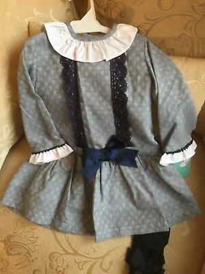Spanish baby girls dress 18- 24 months romany