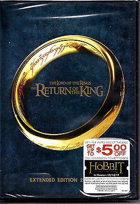 Lord of the Rings - Return of the King (2 Disc DVD 2012 WS) Extended Version