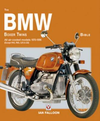 The BMW Boxer Twins Bible Manual BMW R90S R100RS Racing History Specs