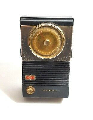 Rare 1950s Motorola Custom 8 Transistor Radio Model 8X26E ,WORKS! L21
