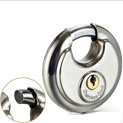 Heavy Duty Outdoor Security DISC Padlock Lock 70mm Perfect for Home, Garages etc