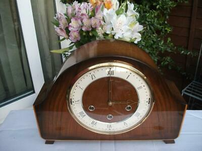 Smiths Westminster-Whittington Dual Chime Mantel Clock. 1956.fully Overhauled.