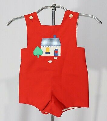Vintage Baby Boy Toddler Sunsuit Sun Suit Play Suit