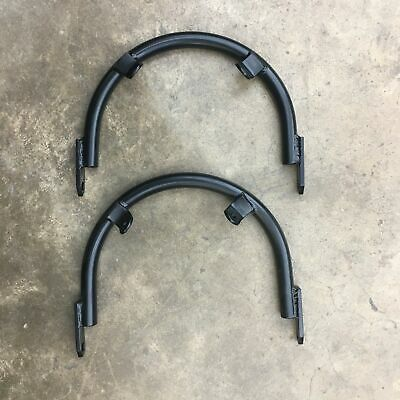 BMW Airhead Aftermarket Two Piece Front Fork Brace Luftmeister San Jose Style