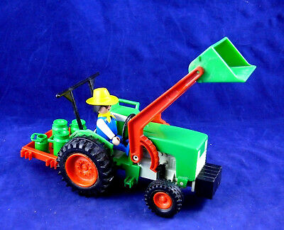 Playmobil, Country, Vehiculos, Tractor clasico con lecheras