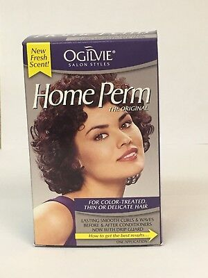 Ogilvie Home Perm For Color Treated, Thin or Delicate Hair - 1 Ea