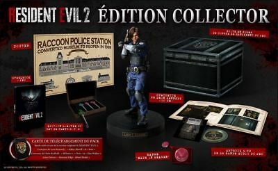 Resident Evil 2 Remake Collector Edition Xbox One - Eu - Neuf / New - Sold Out
