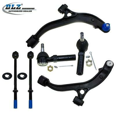 Front Lower Control Arm Ball Joint Tie Rod Ends for 96-00 Dodge Grand Caravan