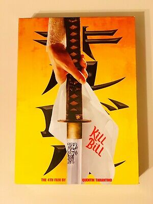 Kill Bill Vol 1 & 2 DVD Collection, Exclusive Best Buy Sleeve, GREAT Condition