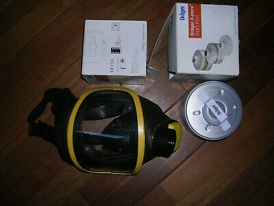 Lots Masque Drager Panorama Nova + 2 filtres Drager X-Plore RD40 Neuf