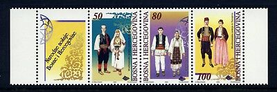 1996 Bosnia and Herzegovina . Traditional Costumes . Mint Never Hinged