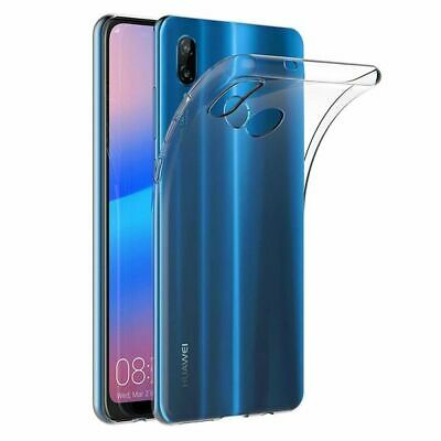 Ultra Thin Soft TPU Silicone Jelly Bumper Back Cover Case for Huawei P20 Lite