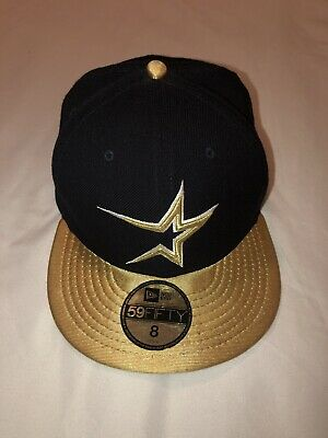 524b0843b03 Houston Astros Ball Cap Fitted 8 Cooperstown Collection Baseball MLB New Era