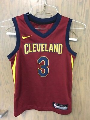 90921d2f3 Isaiah Thomas  3 Cleveland Cavs NBA Red Nike Swingman Kids L Large Jersey
