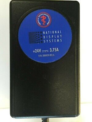 NDS AULT  MW116 Medical Power Supply 24V 3.75A AC Power Adapter
