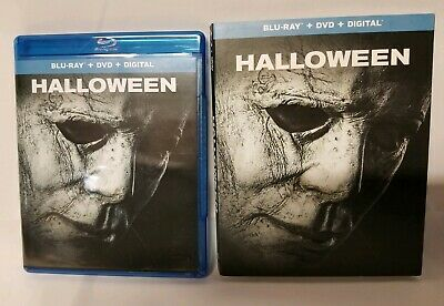 Halloween 2018 Blu Ray + DVD + Digital Code + Slipcover  Horror Movie 2 Disc Set