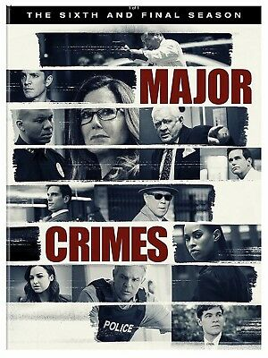 Major Crimes: The Complete Sixth and Final Season (DVD 2018) New, Free Shipping!