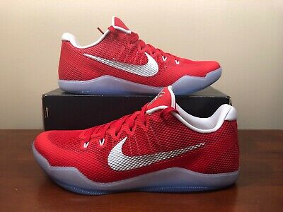 huge selection of 56571 6f271 New Nike Kobe XI 11 TB 856485 663 University Red Silver size 12.5 Basketball