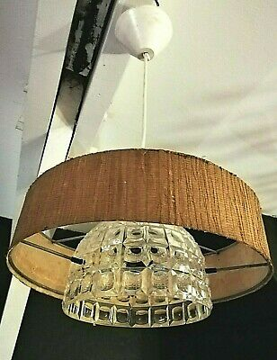 LUSTRE SUSPENSION LAMPE DESIGN SCANDINAVE MODERNISTE VINTAGE 50 60 70 s