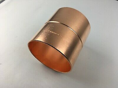 "STREAMLINE - 4"" inch -  C x C - Copper Coupling Fitting With Rolled Stop"