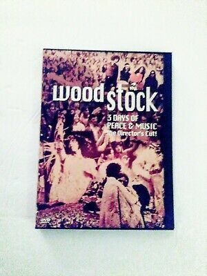 Original Woodstock DVD The Director's Cut1994 Three Days of Fun and Music