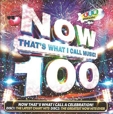 2018 UK POP DANCE CD: VARIOUS ARTISTS - NOW THAT'S WHAT I CALL MUSIC! 100 (2CDs)