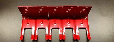 5-FORK STYLE WALL MOUNT 5,10, 20 lb. SIZE FIRE EXTINGUISHER (AMEREX) BRACKET's