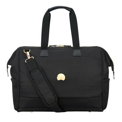 NEW Delsey Montrouge Tote Reporter Bag Black