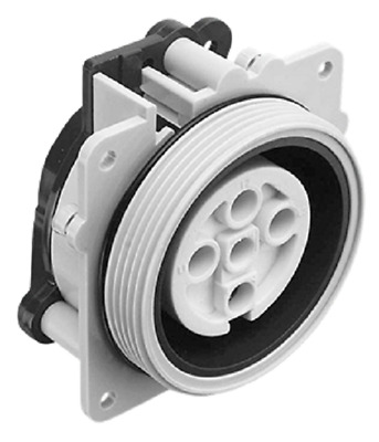 Clipsal INDUSTRIAL INTERNAL SOCKET HOUSING 500V 5-Pins Round, Grey- 10A Or 20A