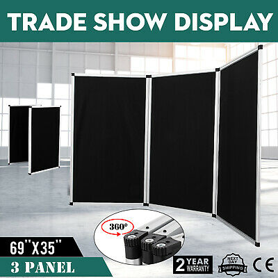 70.8 X 35 Folding 3 Panels Trade Show Display Booth Presentation Booth Exhibit