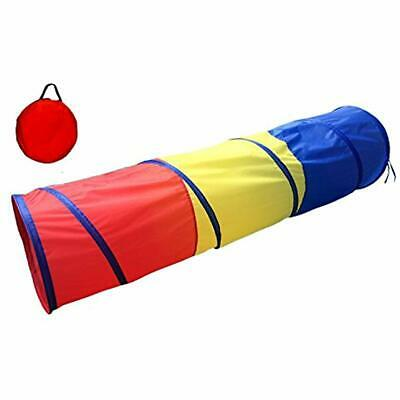 6-ft Play Tunnel Kids Tent Children Pop-up Toy Tube Portable With A  sc 1 st  PicClick & POCO DIVO 6-FT Play Tunnel Kids Tent Children Pop-up Toy Tube ...