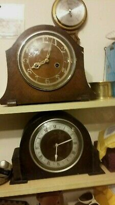 2 MANTLE CLOCKS ENFIELD and ONE MORE BOTH NOT WORKING.