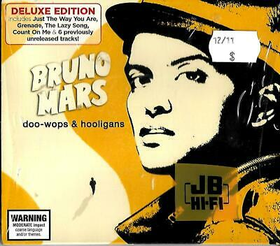 Bruno Mars new/sealed Deluxe edition cd (ft bonus tracks) - doo-wops & hooligans